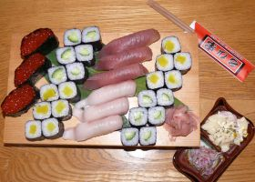 Japan Food Fish Sushi by ashutoshchirmule