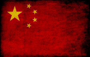 Chinese Grunge Flag 1440x900 by archidisiac