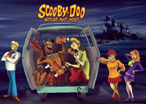 Scooby-Doo where are you! by CornandCucumber