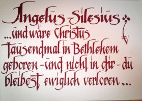 Angelus Silesius by cube93
