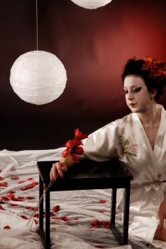 geisha red by ladypam