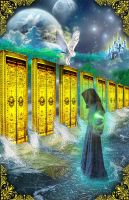 Keeper of the Akashic Records by Elric2012