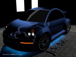 Beetle RSi Blue by jese-mx