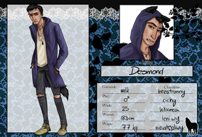FK: Desmond by AnythingPrince