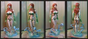 Poison Ivy paint WIP. by Leebea