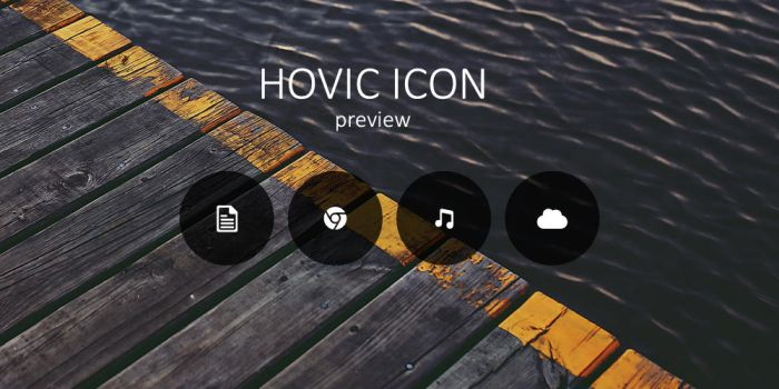 Hovic Icons preview by ajdip