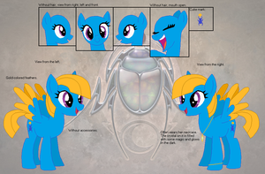 Reference sheet - Noble Locket by Derpyna