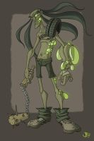 Wasteland Mutant Dude by Schnookiefoo