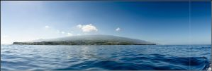 The Big Blue Reunion Island by songe