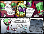 IZFAS Promotional Comic by ZazzyPaws
