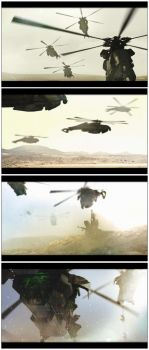 Helicopter Transport 01 by bradwright