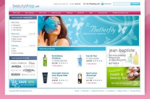 Beauty Supply Ecommerce Site by chymera8466