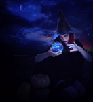 Blue Witch by SweetlySecret