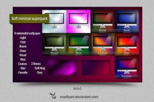Soft Minimal Superpack by MayFlyArt
