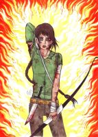HG Girl on Fire color by Juli-Yashka