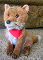 Discovery Channel Fox Plush by The-Toy-Chest