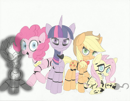 Five Nights at Twily's - Animatronics by Sketchy-Hooves