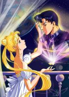 Serenity and Endymion. (Sailor Moon) by Vladta
