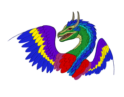Feathersnake color by qwerty1198