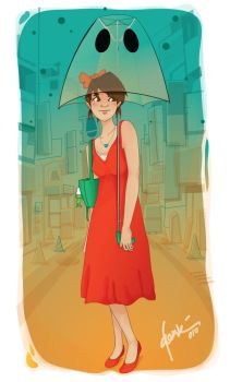 ranee and town by qbenk