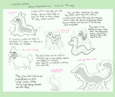Cookie Cutter species by sweating