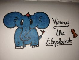 My Epic Critters~Vinny the Elephant by ScenePika