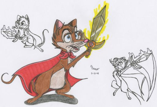 Brisby and the Sword of Courage by SegaDisneyUniverse