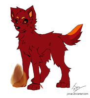 Fire Adoptable by TheblueQueen16