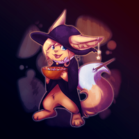 Halloween Pancake by CrispyCh0colate