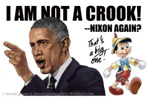 I Am Not A Crook B by jbeverlygreene