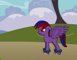 ponyWithBackground by Duelist96