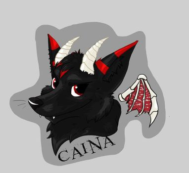 BADGE: Caina by Commander-ShiningCat