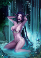 Warcraft - Hidden springs by Arcan-Anzas