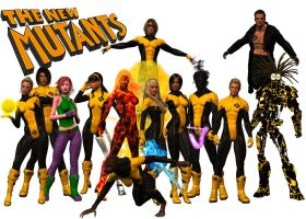 New Mutants - Dream Team by DragonSpawn2000
