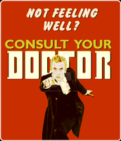 Doctor Who 12th Vintage Retro Styled Poster by SixtiesRockGuy