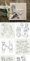 Sketch Compilation 2015 by N-Maulina