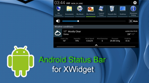 Android Status Bar for xwidget by Jimking