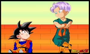 Goten Y Trunks by aliensurxx