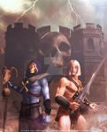 MoTU - He-Man and Skeletor by 3D-Fantasy-Art