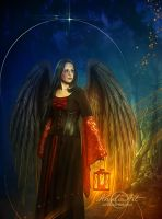 Night-Angel by AngeliaArt