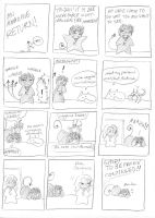 AMAZING RETURN COMIC by sadwonderland