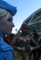 Cammy Dhalsim snapshot by shadow-lady-chun-li