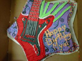 rock star cake by toastles