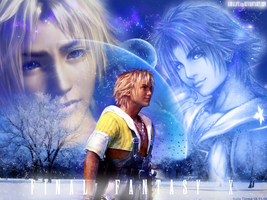Tidus Wallpaper by Vlossy