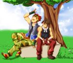Harvest Moon - Owen and Kurt by Sanoshi