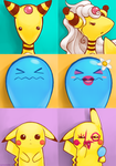 Pokemon: Extreme Makeover Edition by Sephirona