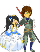 Bride and Dread Fighter by ash64