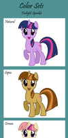 Adoptables - Twilight Color Set by IceOfWaterflock