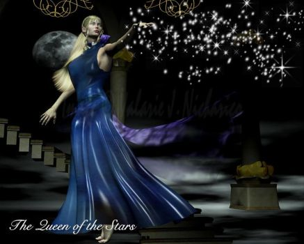 The Queen of the Stars by vaia