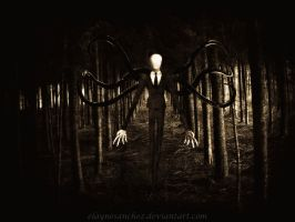 The Slender Man Is Coming For You by ElayneSanchez